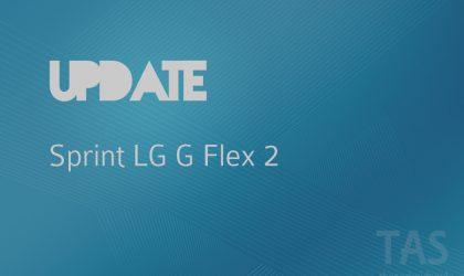 Sprint LG G Flex 2 set to receive an update but still no Marshmallow
