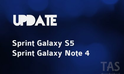 Sprint rolling out new update (PE2) for Galaxy Note 4 and Galaxy S5