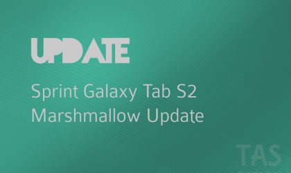 T817PSPT2BPE1: Sprint Galaxy Tab S2 is receiving Marshmallow update too!
