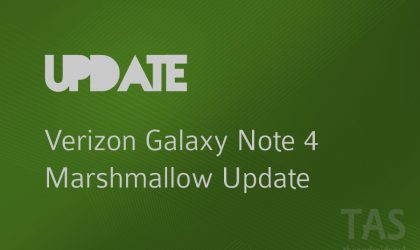 Verizon releases Note 4 Marshmallow update with build CD1 (N910VVRU2CPD1)