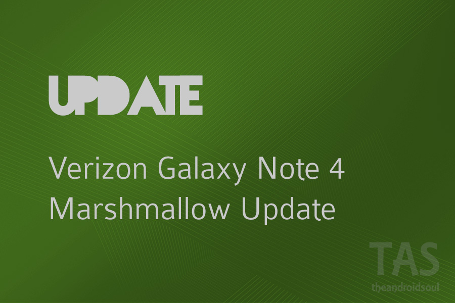 Verizon releases Note 4 Marshmallow update with build CD1