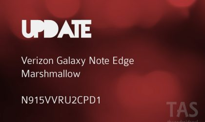 Marshmallow update for Verizon Note Edge released (build N915VVRU2CPD1)