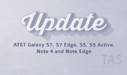 AT&T updates Galaxy S7 and S7 Edge (Wi-Fi calling), and also Note 4, Note Edge, S5 and S5 Active