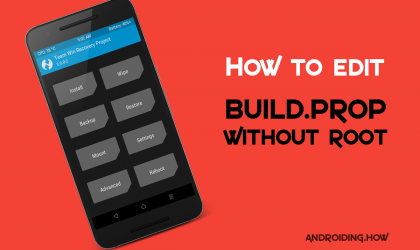 How to Edit Build.prop Without Root using ADB in TWRP recovery