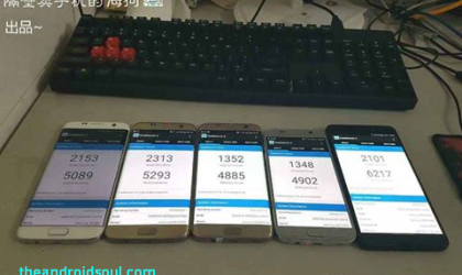 New leak compares Galaxy Note 7 display with Galaxy S7 edge