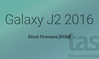 Download Galaxy J2 2016 Firmware [Stock ROM]