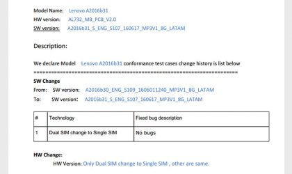 Single-SIM variant of Moto E3 (or Moto A) spotted at FCC