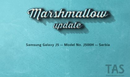 Android Marshmallow update is out for Galaxy J5 in Serbia