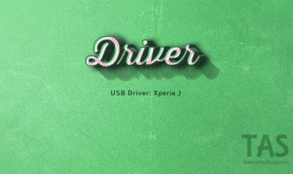 Download Sony Xperia J driver [USB + ADB]