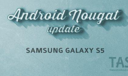 Galaxy S5 Nougat update: Verizon outs April security patch as build G900VVRS2DQD1