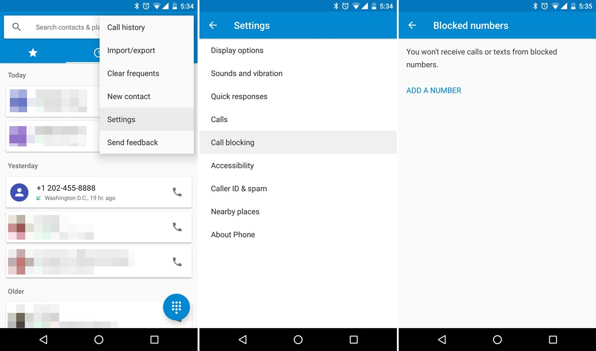 How To Block Phone Number On Nougat