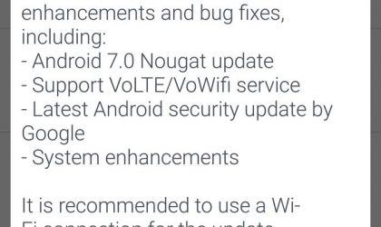 HTC 10 Nougat update rolling out in Thailand, build 2.41.709.3