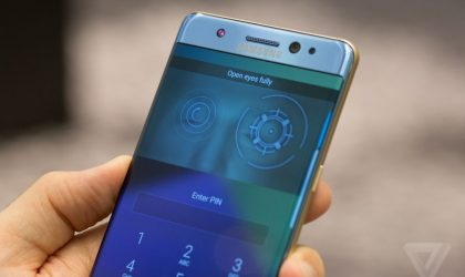 How to Set Iris Scanner on Galaxy Note 7