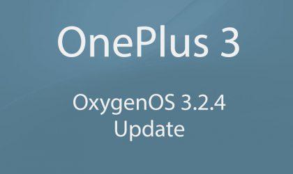 Download OnePlus 3 OxygenOS 3.2.4 update!