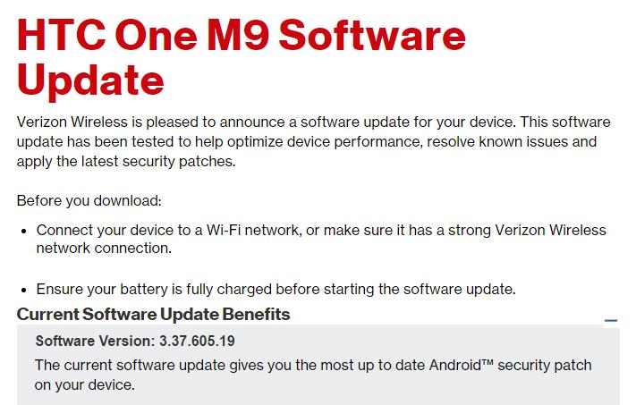 Verizon-One-M9-december-security-patch