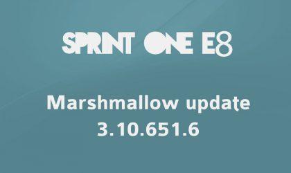 Download Sprint HTC One E8 Marshmallow update RUU 3.10.651.6