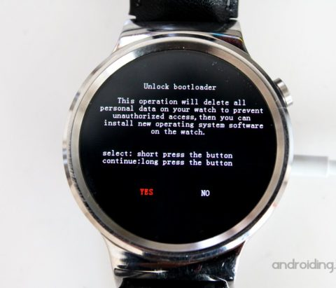 How to Unlock Bootloader on a Wear OS watch via Fastboot