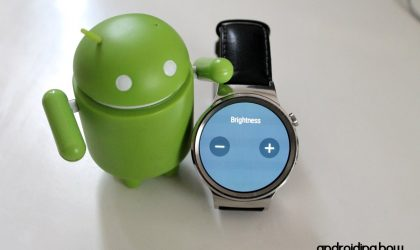 How to Set Auto Brightness on an Android Wear Watch without Ambient Sensor