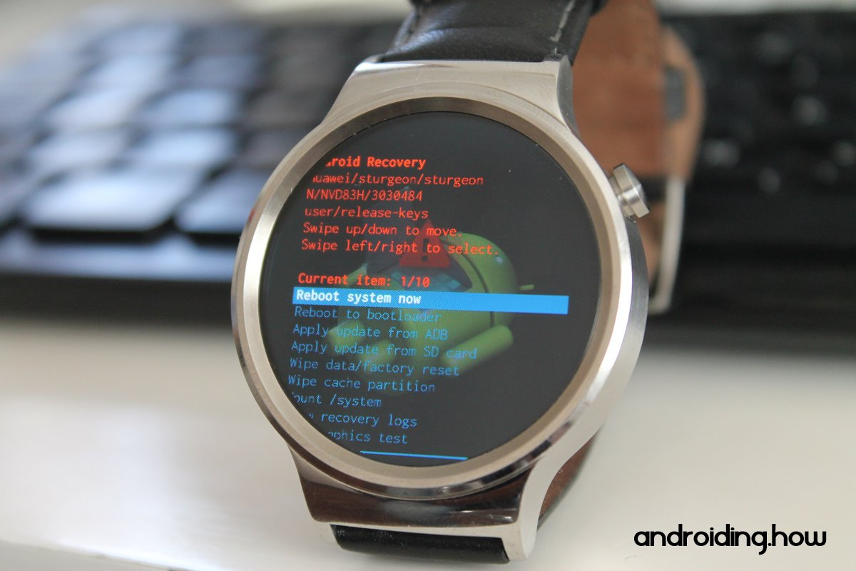 How to install TWRP Recovery on Wear OS watches via Fastboot