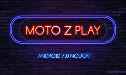 Moto Z Play Nougat update: Motorola now pushing out build NPN25.137.24.1