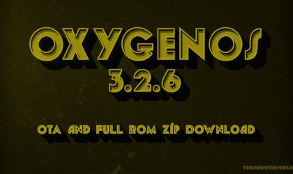 Download OnePlus 3 OxygenOS 3.2.6 OTA and Full ROM ZIP
