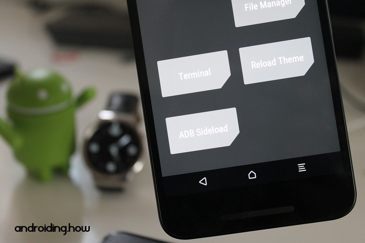 How to ADB Sideload SuperSU zip from TWRP Recovery