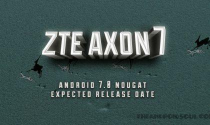 ZTE Axon 7 Nougat update: Official OTA update live now, firmware version A2017UV1.1.0B15