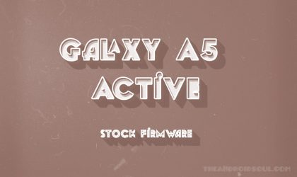 Download Galaxy A5 Active Firmware