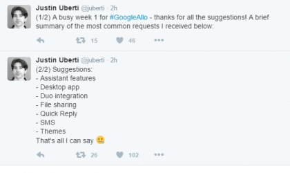 Google Allo update could bring these New features?