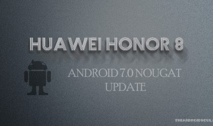 Honor 8 Nougat update: Build B356 OTA released in China