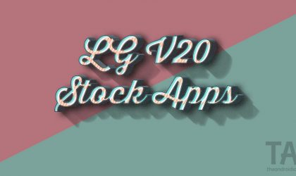 Download LG V20 Stock Apps