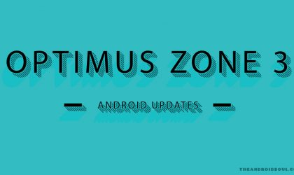 Optimus Zone 3 update: Verizon releases a security patch as build VS425PP8
