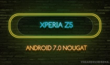 Xperia Z5 Nougat update: January release looks set!