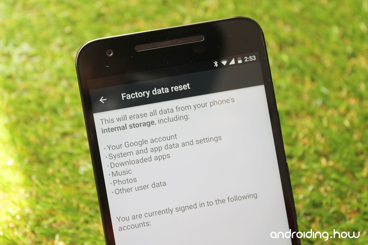 How To Factory Reset Google Pixel And Pixel Xl How To Factory Reset Google  Pixel And