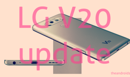 LG V20 Pie update news and more: Android 9 confirmed; November 2018 patch arrives for T-Mobile users
