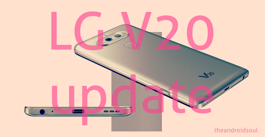 LG V20 Pie update news and more: Android 9 confirmed