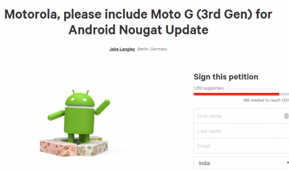 Moto G3 Nougat update: January security patch rolling out as build 24.216o.12.en.EU