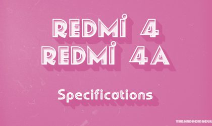Redmi 4 and 4A Specs leak on the web