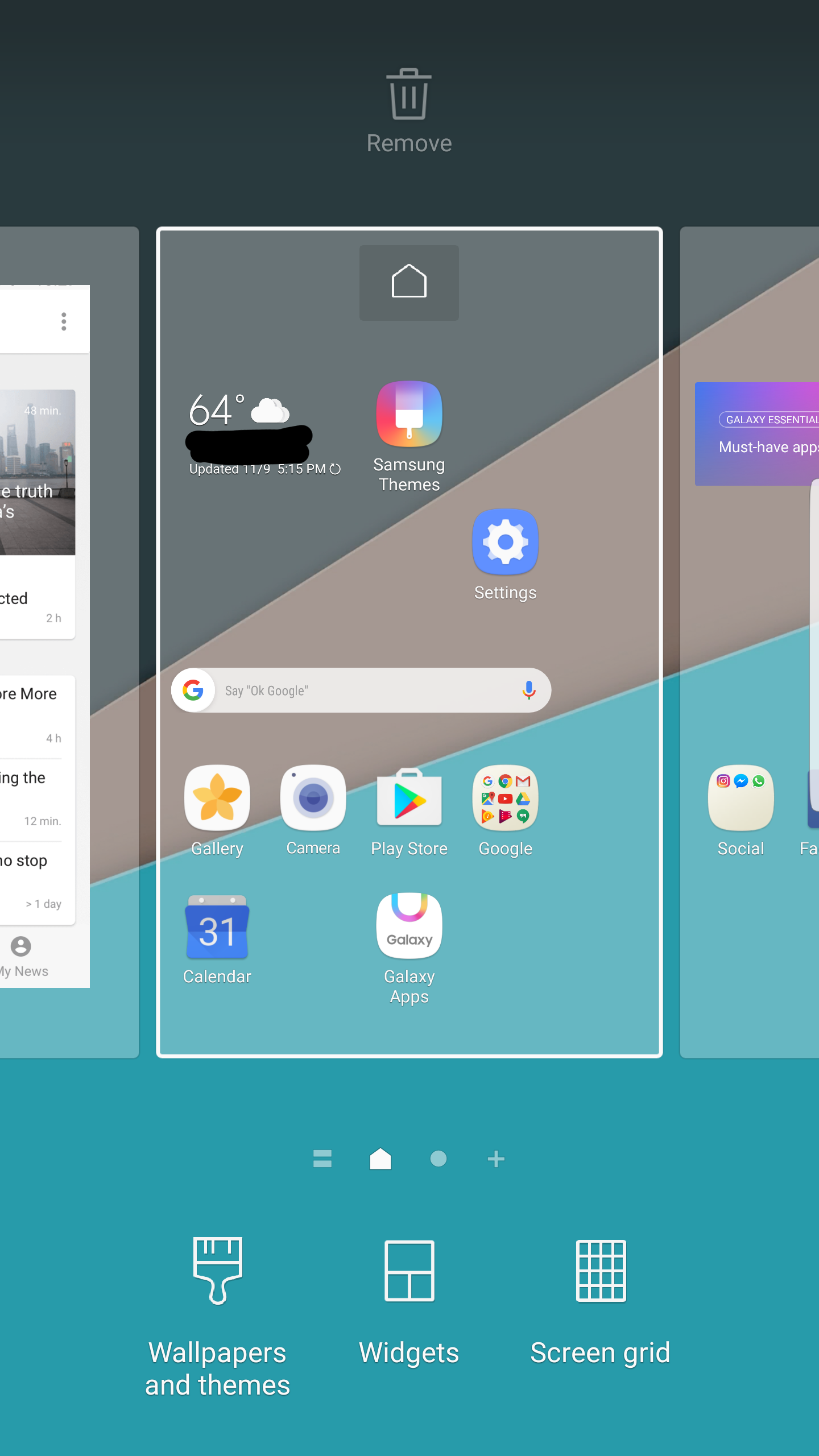 Samsung Galaxy S7 Nougat Grace UX Theme: How can you get ...