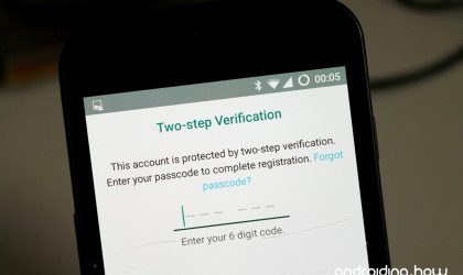 How to Reset / Disable Passcode for WhatsApp Two Step Verification