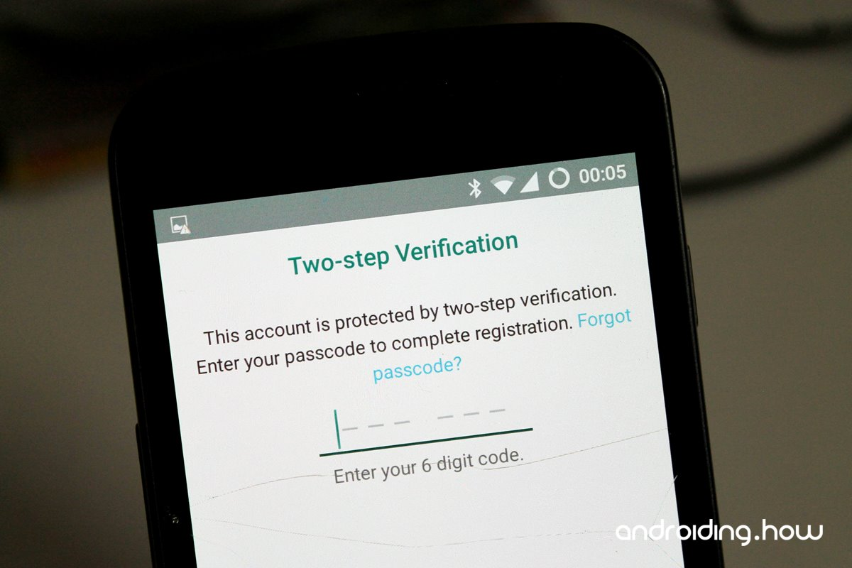 How to Reset / Disable Passcode for WhatsApp Two Step