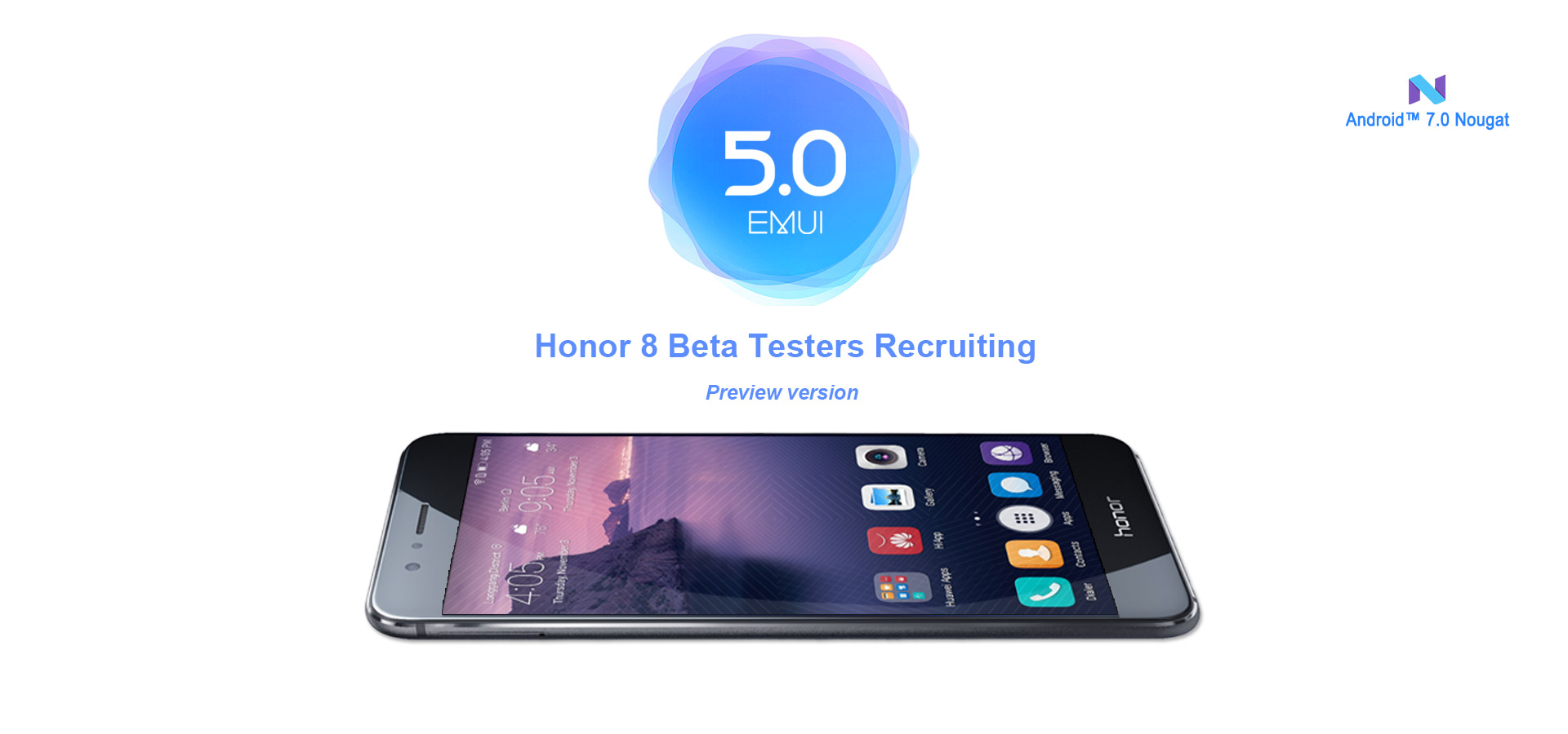Honor 8 Android 7 0 Nougat beta firmware (EMUI 5) available