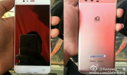 Huawei P10 photo leak reveals its dual cameras and pink color metal body