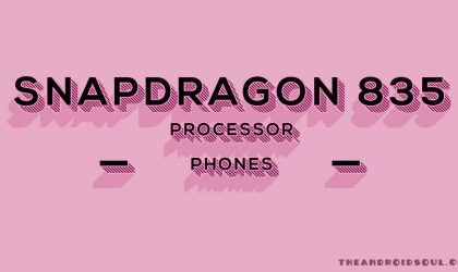 Snapdragon 835 phones expected to release in 2017