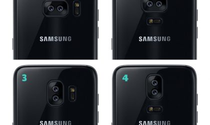 Galaxy S8 camera module placement mock-up: Which would you choose?