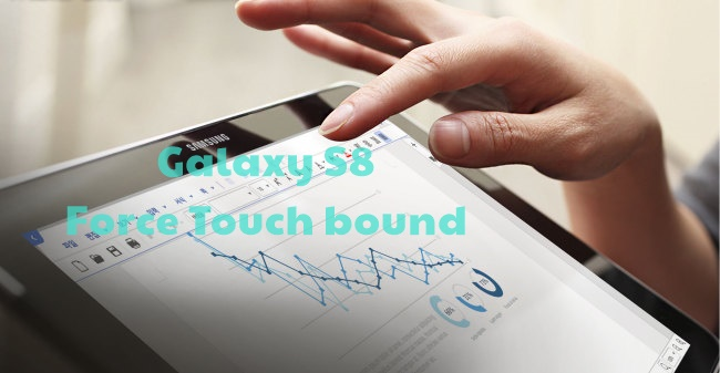 Galaxy S8 Plus: 3D Touch/Force Touch display in the line