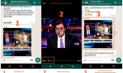 WhatsApp Video stream is now live in India, allows you to watch videos without downloading