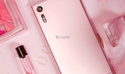 Pink Xperia XZ with purple tint is headed to China