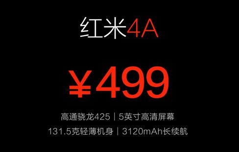 redmi-4a-price