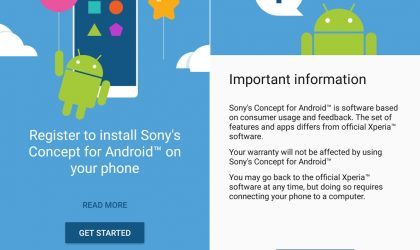 Sony releases Xperia X Android 7.0 Nougat update as beta under Sony Concept program